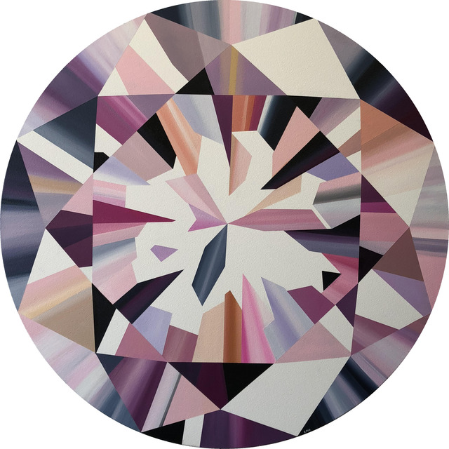 , 'Pink Round Diamond,' 2018, Incontemporary