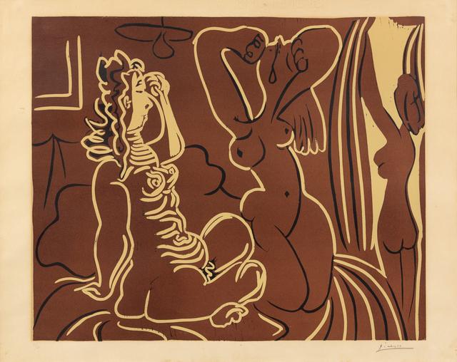 Pablo Picasso, 'Trois femmes au réveil', 1959, Hindman