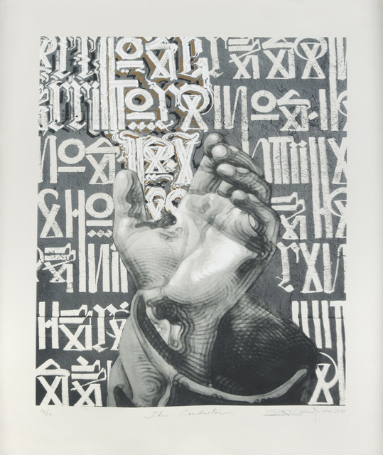 RETNA, 'The Conductor', 2010, Julien's Auctions