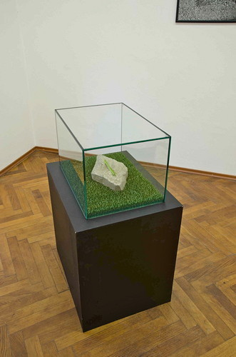 , 'The Stone,' 2015, Gandy Gallery