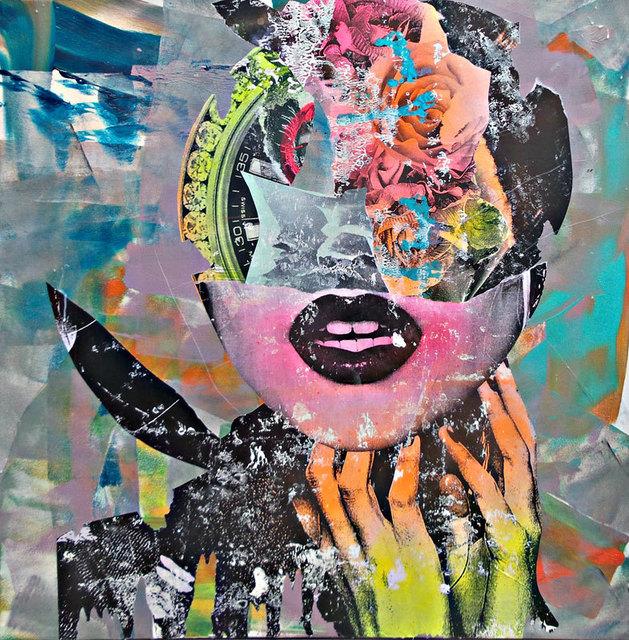 , 'FLOWER CLOCKHEAD,' 2016, Black Book Gallery