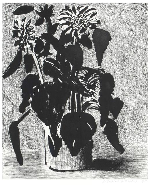 David Hockney, 'Sunflowers II', 1995, Oliver Clatworthy
