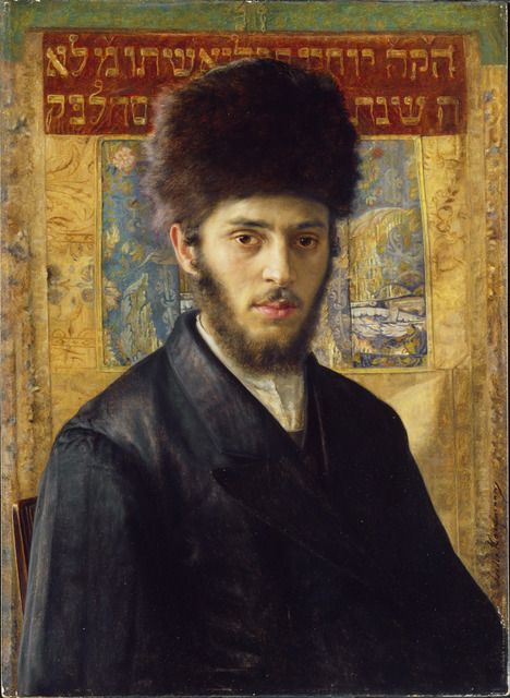 , 'Young Rabbi from N,' 1910, The National Gallery, London