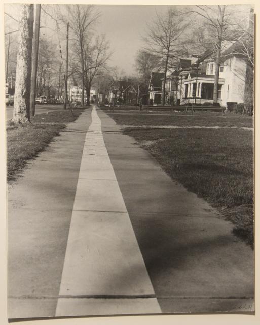 , 'Tape Project: Sidewalk 2,' 1971, Henrique Faria Fine Art