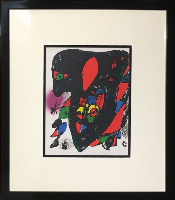 Joan Miró, 'Joan Miro Lithographies IV: Cover Page', 1972, Baterbys