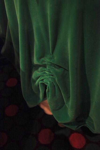 , 'Green Curtain,' 2017, BERG Contemporary