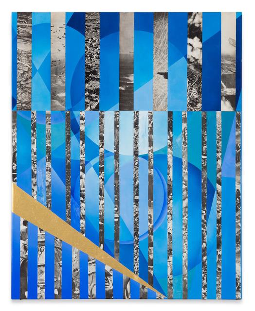 Anna Ostoya, 'Circles and Stripes', 2016, Bortolami