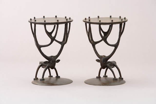 , 'Deer Side Tables,' , Galerie Dumonteil