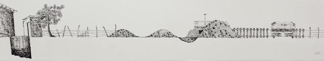 , 'Fence IV,' 2016, Saskia Fernando Gallery