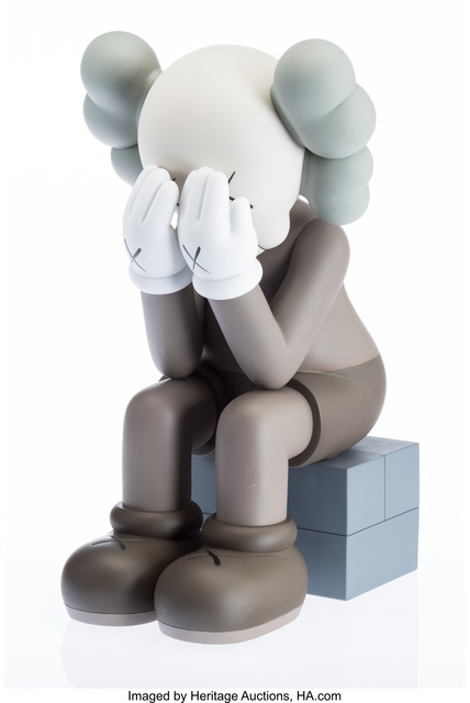 KAWS, 'Passing Through Companion (Brown)', 2013, Heritage Auctions