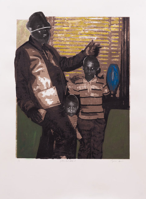 Tyanna J. Buie, 'Father and Sons II', 2018, Simone DeSousa Gallery