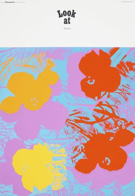 Andy Warhol, 'Look at Warhol, October', 1970, Roseberys
