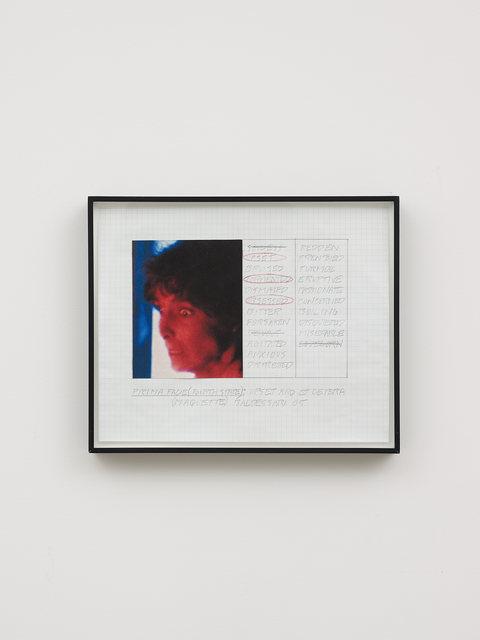 , 'Prima Facie (Fourth State): Upset and Et Cetera (Maquette),' 2005, Galerie Greta Meert