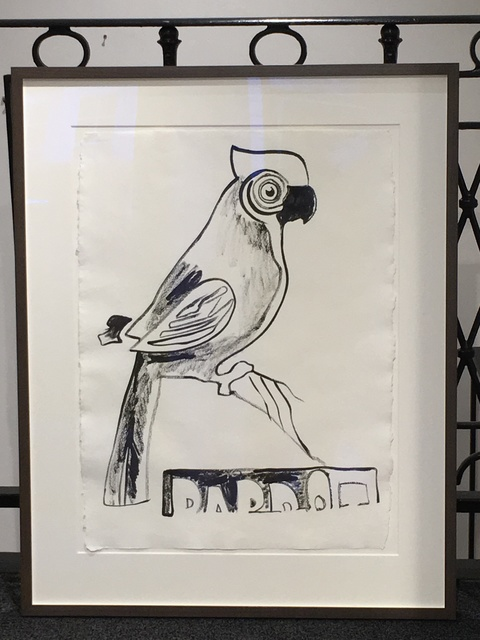 Andy Warhol, 'Parrot with Crest', 1983, Joseph Fine Art LONDON