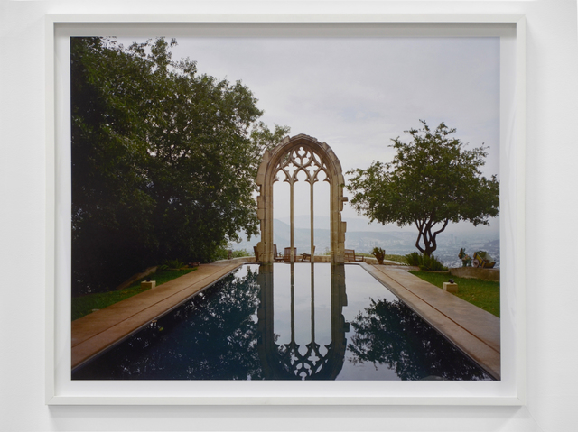 , 'Pool with Arch,' 2014, Shoshana Wayne Gallery