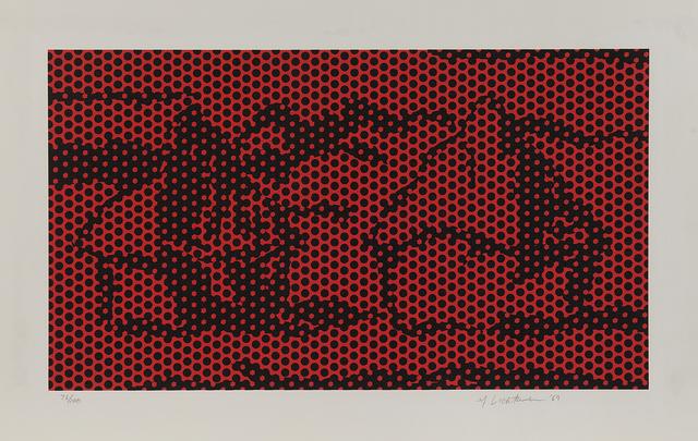 Roy Lichtenstein, 'Haystack #6, from Haystack Series', 1969, Phillips