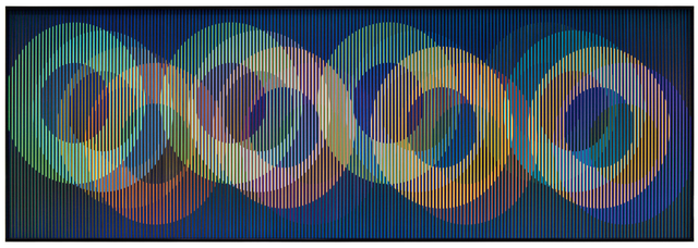 , 'Cromointerferencia Espacial 50,' 1964-2017, Marion Gallery