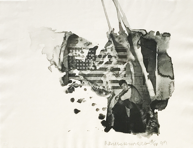 Robert Rauschenberg, 'Jap', 1999, Print, Intaglio, Eckert Fine Art