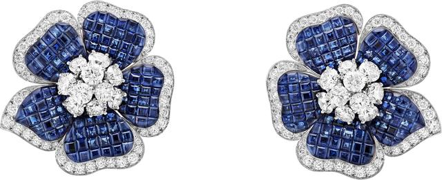 , 'Gloxinia earrings. Unique piece, High Jewelry Collection,' 2015, Van Cleef & Arpels