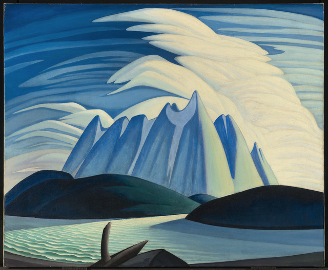 , 'Lake and Mountains ,' 1928, Hammer Museum