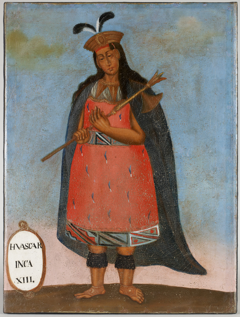 , 'Portrait of Huascar Inca XIII,' 19th century, Musée du quai Branly