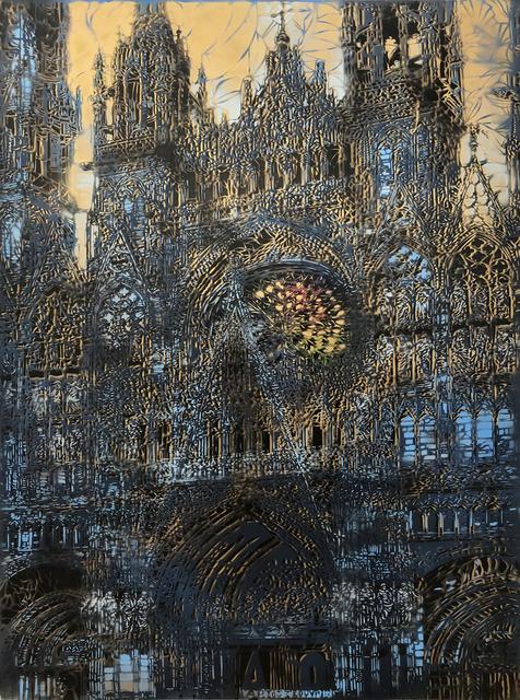 Artiste-Ouvrier, 'Cathédrale de Rouen', 2018, Galerie Brugier-Rigail