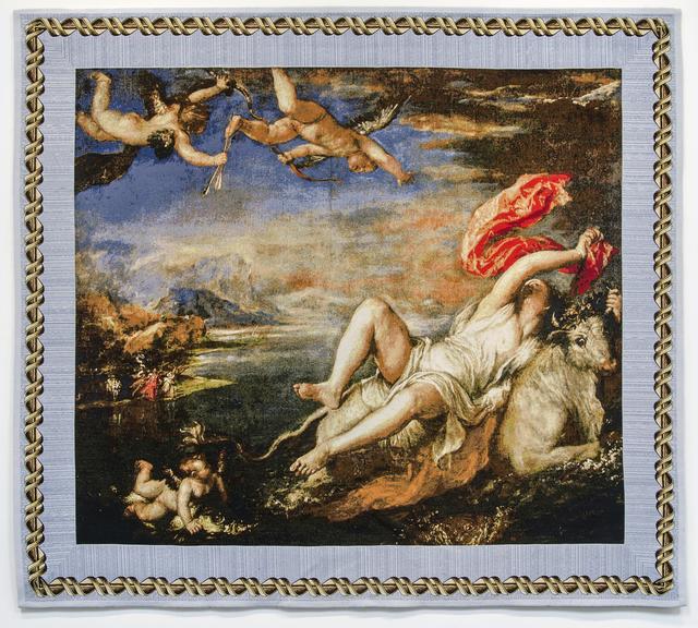 , 'Rape of Europa -Tizian,' 2016, Shoshana Wayne Gallery