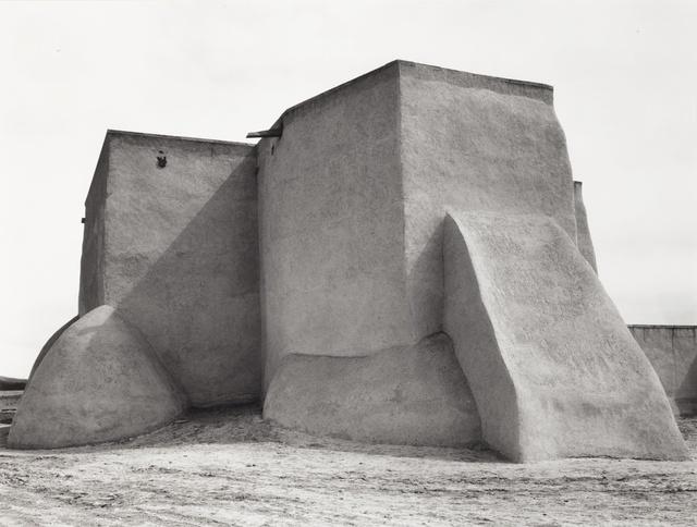 Ansel Adams, ''St. Francis Church, Rancho de Taos, New Mexico'', Sotheby's