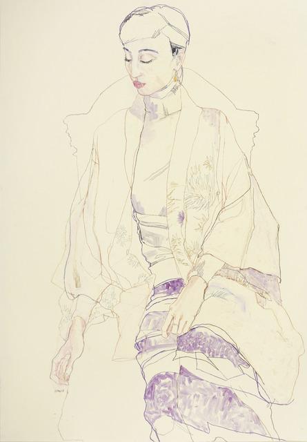, 'Maria in Crysanthemum Kimono,' 2013, 10 Hanover