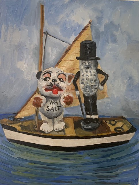 Ben Killen Rosenberg, 'Mr. Peanut and Salty', 2020, The Secret Gallery