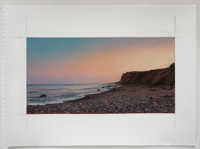 , 'Sunset from Montauk Point,' 2012, Atrium Gallery