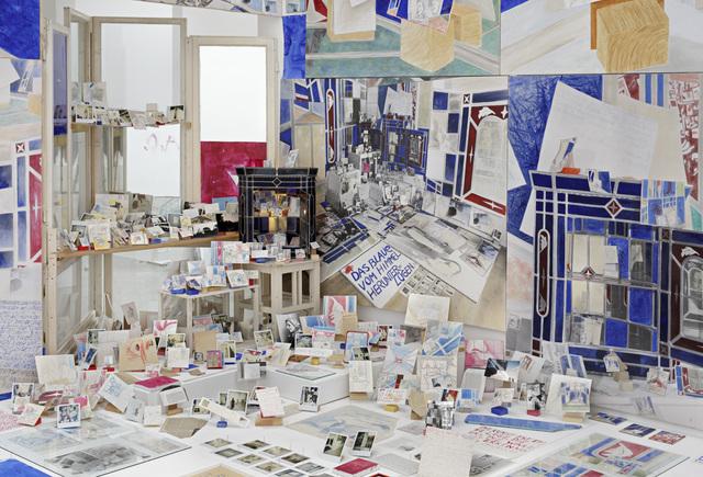 , 'Paradoxe Intentionen ,' 1988-1992, ICA Miami