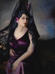 Retrato de la Sra. García de Castro, I
