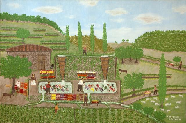, 'Blanket Processing,' 1985, C. Grimaldis Gallery
