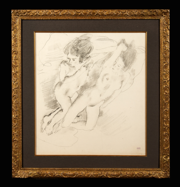 Jules Pascin, 'Deux nues allongees', Trinity House Paintings