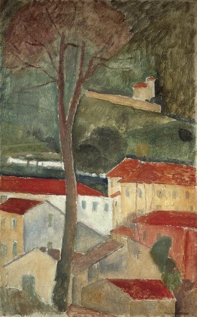 , 'Cagnes Landscape,' 1919, Tate Modern
