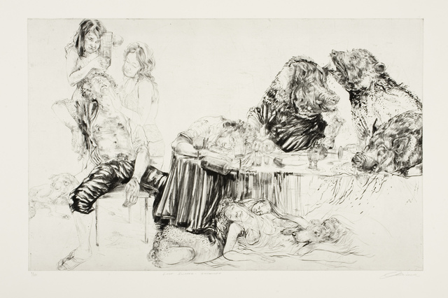 , 'Last Supper – Enswined,' 2011, David Krut Projects