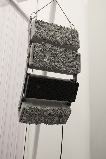 , 'Cold World Cycles Warm (line array),' 2018, Empty Gallery