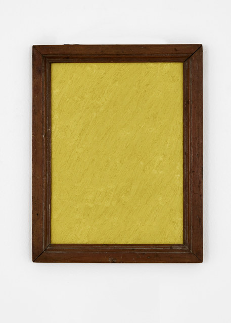 James hd Brown, 'One Color Painting #1 (Yellow)', 2019, Galería Hilario Galguera