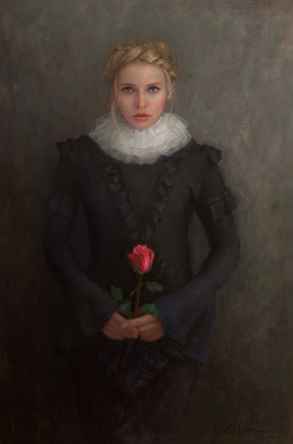 , 'The Girl and the Rose,' 2019, Simard Bilodeau Contemporary