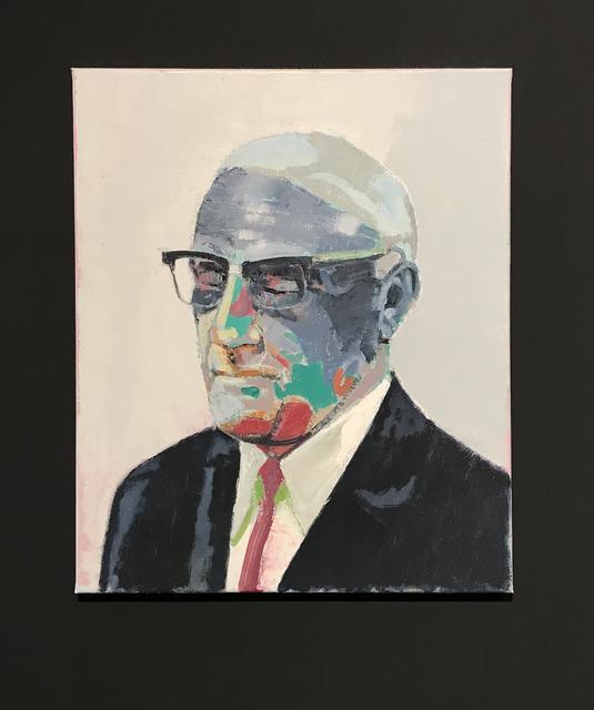 , 'Man met bril,' 2018, GRIMM