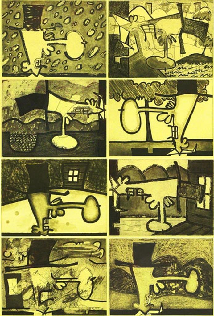 Carroll Dunham, 'Atmospherics,' 2001-2002, Senior & Shopmaker Gallery