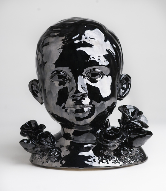 , 'Head of Boy In Rose Garden,' , Abmeyer + Wood Fine Art