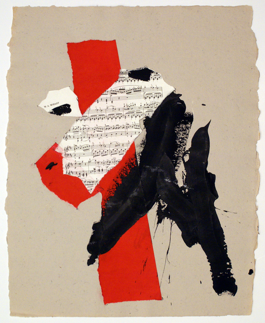 Robert Motherwell, 'M', 1991, Bernard Jacobson Gallery