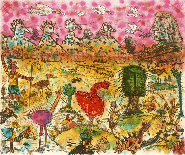 Roy De Forest, 'Birdland', 1994, Brian Gross Fine Art