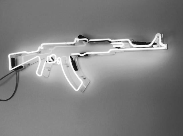 Carl Mccrow, 'AK47 Neon', 2018, HG Contemporary