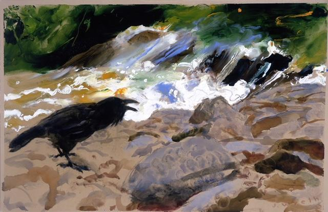 , 'Brandywine Raven,' 2010, Adelson Galleries