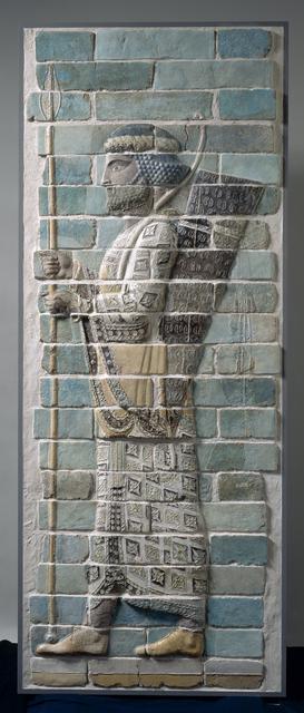 'Archer de Darius (Archer of Darius)', Musée du Louvre
