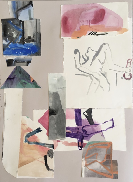 , 'Untitled Collage 1,' 2018, Nicholas Thompson Gallery