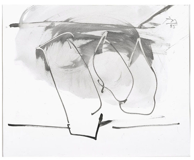 , 'Untitled (Hollow Men Study),' 1985, William Shearburn Gallery